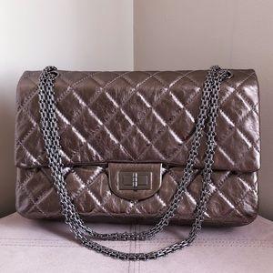 NEW CHANEL 227 Large Jumbo Reissue Flap Bag